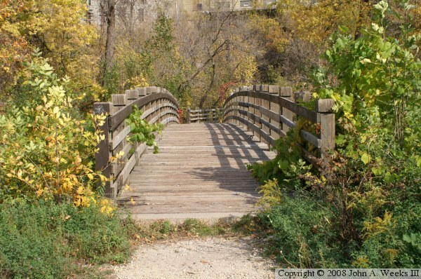 Father Hennepin Bluffs Park Bridges