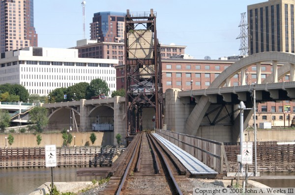 Chicago Great Western Railway Lift Bridge